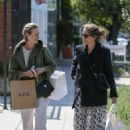 Amanda Peet and Sarah Paulson – Shopping at Zimmermann in West Hollywood - 454 x 681