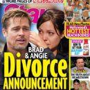 Angelina Jolie and Brad Pitt - Star Magazine Cover [United States] (11 July 2016)