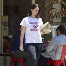 Lana Del Rey in Tights – Out in Los Angeles