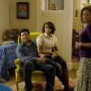 Ben (Tyler Perry), Pam (Taraji P. Henson) and Alice (Alfre Woodard) in TYLER PERRY'S THE FAMILY THAT PREYS. Photo credit: Alfeo Dixon