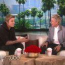 Ellen DeGeneres scares the living Sh*T out of Justin Bieber February 20,2015