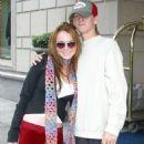 Aaron Carter and Lindsay Lohan - 454 x 617