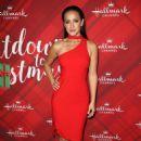 Crystal Lowe – 'Christmas at Holly Lodge' Screening in LA - 454 x 667