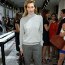 Jessica Hart attends the Michael Kors fashion show during Mercedes-Benz Fashion Week Spring 2015 at Spring Studios on September 10, 2014 in New York City