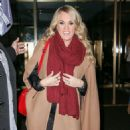 Carrie Underwood Leaving The Today Show In Nyc
