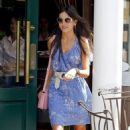 Camilla Belle: at Sant Ambroeus Restaurant in New York City