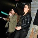 Lindsay Lohan: leaving the Rose nightclub  in London