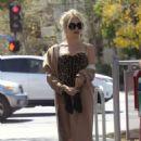 Pixie Lott Filming music video in Los Angeles - 454 x 681