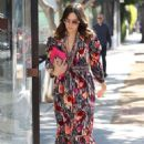 Mandy Moore in Colorful Dress – Out in Beverly Hills