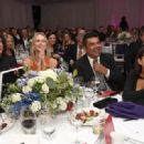 Musician Paul Stanley, his wife and comedian George Lopez attend the 5th Annual Open Hearts Foundation Gala on May 9, 2015 in Malibu, California.