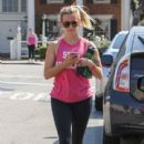 Reese Witherspoon is seen out and about after working out on June 20, 2016