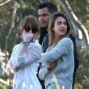 Jessica Alba: checking out some property that she is interested in buying in Beverly Hills