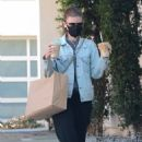 Kate Mara – steps out in Los Angeles - 454 x 681