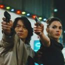 Gal Gadot and Sung Kang
