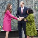 Prince William, Duke of Cambridge and Catherine, Duchess of Cambridge  Visit Stephen Lawrence Centre (March 27, 2015)