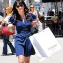 Robin Tunney & Her Legs Went Shopping In Beverly Hills 7-29-2010
