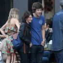 AUG 27TH - HARRY OUT WITH FRIENDS