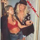 Jani Lane and Bobbie Brown