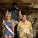 "L-r: HEATHER BURNS, ABRAHAM BENRUBI and WILLIAM SHATNER in Castle Rock Entertainment's and Village Roadshow Pictures' comedy ""Miss Congeniality 2: Armed and Fabulous,"" starring Sandra Bullock and distributed by Warner Bros. Picture"