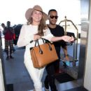 Chrissy Teigen At Lax