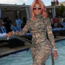 Blac Chyna Hosts Sapphire's Pool Party at Sapphire Pool and Day Club in Las Vegas, Nevada - May 6, 2017 - 454 x 554