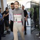 Gigi Hadid – Leaving the Tod's Fashion Show in Milan