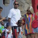 Blac Chyna and Tyga Throw King Cairo a 5th Birthday Party at Six Flags Magic Mountain in Los Angeles, California - October 14, 2017 - 454 x 681