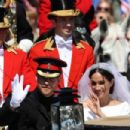 Prince Harry Marries Ms. Meghan Markle - Procession - 454 x 303