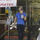 Kaley Cuoco – Seen after horseback riding in Los Angeles