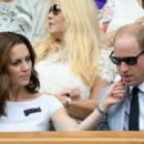 Prince William and Duchess Catherine at Wimbledon 2017 - 454 x 332