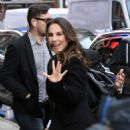 Kate del Castillo Arriving to Appear on Good Morning America in NYC 4/12/2017 - 454 x 649
