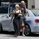Amber Rose Leaving a Nail Salon in Los Angeles, California - August 17, 2016