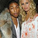 Pharrell Williams and Karolina Kurkova