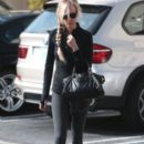 Kimberly Stewart leaving a spa in West Hollywood, California on January 25, 2014 - 392 x 594