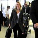 Amy Smart - Arriving Into LAX Airport - April 10, 2010