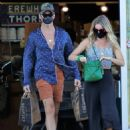 Annabelle Wallis and Chris Pine – Shopping in Los Angeles - 454 x 562