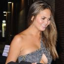Chrissy Teigen Night Out In Nyc