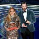 Jennifer Lopez and Chris Evans At The 91st Annual Academy Awards - Show - 454 x 526