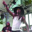 Rapper Lil' Wayne performs at Foxtail Pool at SLS Las Vegas on September 6, 2015 in Las Vegas, Nevada