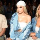 Kylie Jenner attends the Jonathan Simkhai fashion show during New York Fashion Week: The Shows at The Arc, Skylight at Moynihan Station on September 10, 2016 in New York City