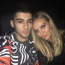 Zain Malik and Perrie Edwards