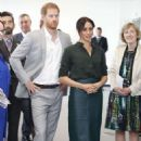 Meghan Markle and Prince Harry at the University of Chichester