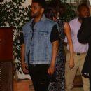 Selena Gomezand The WeekndLeaving the Sunset Tower hotel in LA