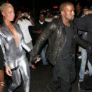 Amber Rose and Kanye West Attend the Persona Magazine Launch party in New York - September 11, 2009 - 454 x 571