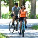 Lea Michele – Bike Riding in The Hamptons - 454 x 333