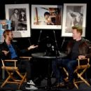 Musician Ringo Starr speaks with comedian Conan O'Brien about his book PHOTOGRAPH on September 25, 2015 in Los Angeles, California.