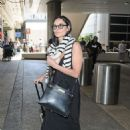 Demi Moore – Arrives at LAX International Airport in LA