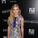 "AnnaSophia Robb attends the screening of Sony Pictures Classics' ""Irrational Man"" hosted by The Cinema Society with FIJI Water & Metropolitan Capital Bank at Museum of Modern Art on July 15, 2015 in New York City"