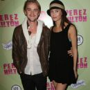 Tom Felton celebrated blogger, Perez Hilton's birthday last night, March 24, at Siren Studios in Los Angeles