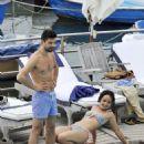 Dominic Cooper vacationing in Ischia (July 12)